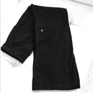 Lululemon black flare leg pants